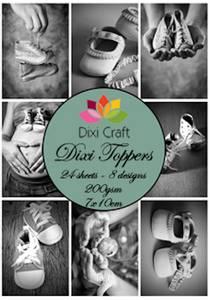 Bilde av  Dixi Craft - Dixi toppers - ET0117 - Baby Shoes
