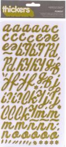 Bilde av Thickers - 53161 - Printed Chipboard - Green Wood - Forest