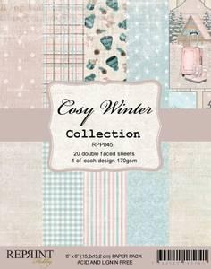 Bilde av Reprint - 6x6 - RPP045 - Cozy Winter Collection pack
