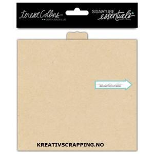 Bilde av Teresa Collins - Signature Essentials - Flip Book -4x5,5 -Kraft