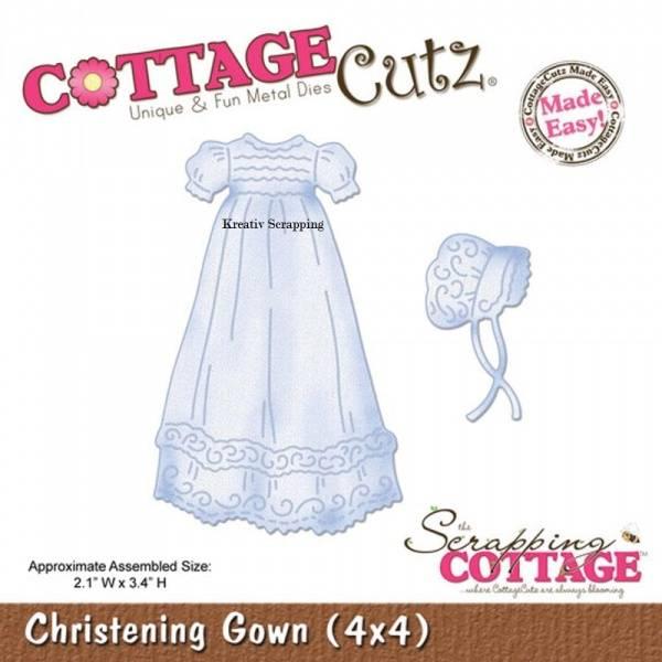 Cottage Cutz - cc4x 4497 - Christening Gown