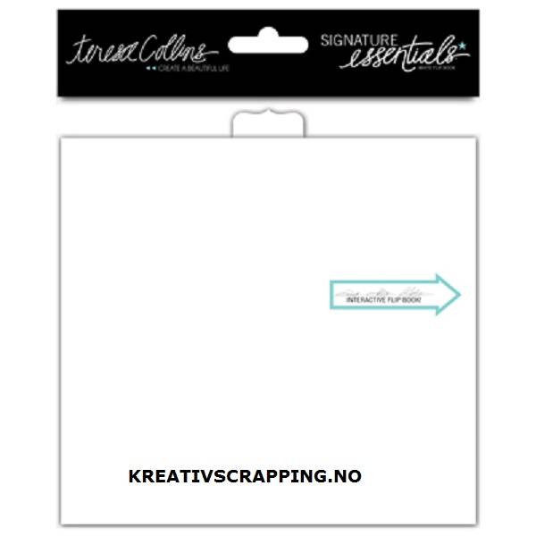 Teresa Collins - Signature Essentials - Flip Book -5,9x5,5 -Whit