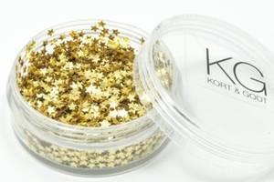 Bilde av Kort & Godt - Paljetter i boks - PA231 - Stjerne - Gull