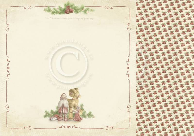 Pion Design - PD9801 - Christmas Wishes - Good tidings
