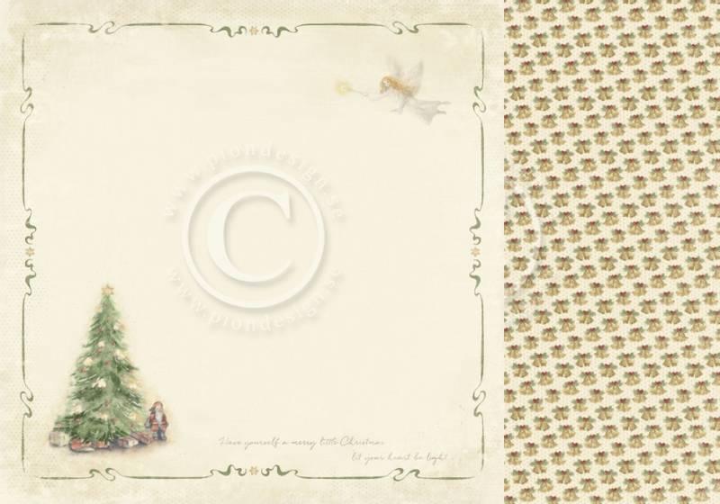 Pion Design - PD9802 - Christmas Wishes - Christmas morning