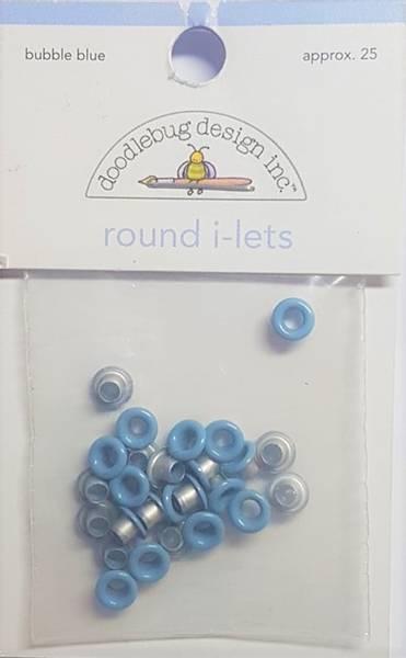 Doodlebug - Round i-lets - 1/8