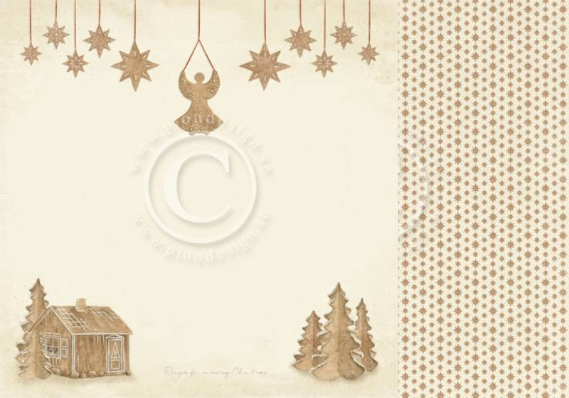 Pion Design - PD9803 - Christmas Wishes - Gingerbread land