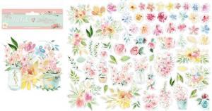 Bilde av Stamperia - Chipboard Die Cuts - 28 - Circle of Love Flowers