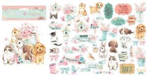 Bilde av Stamperia - Chipboard Die Cuts - 29 - Circle of Love Cats, Dogs