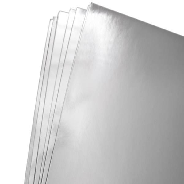 Kort & Godt - A4 - Speilkartong - GP211 - Sølv