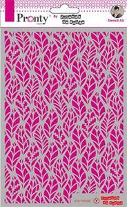 Bilde av Pronty Crafts - Stencil - A5 - Leaves
