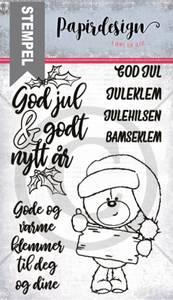Bilde av Papirdesign - Stempel - PD1900160 - Julebamse