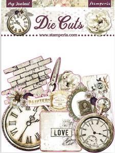 Bilde av Stamperia - Chipboard Die Cuts - 34 -  My Journal