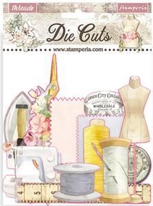 Bilde av Stamperia - Chipboard Die Cuts - 35 - Threads Die