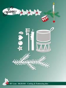 Bilde av By Lene - Dies - BLD1303 - Spruce & Ornaments