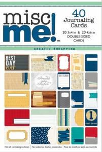 Bilde av BOBUNNY MISC ME! JOURNAL PACK CARDS - POP QUIZ - 40 STK