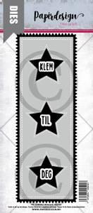 Bilde av Papirdesign Dies PD2100502 - Slimcard Stjerne