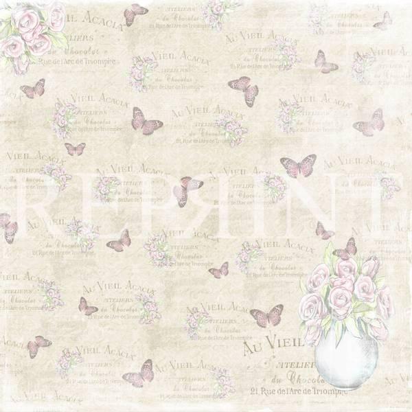 Reprint - 12x12 - RP0310 - Swedish Fika - Butterflies