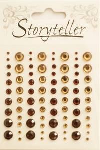 Bilde av Storyteller - Bling - ST-009513 - Lys og mørk Brun