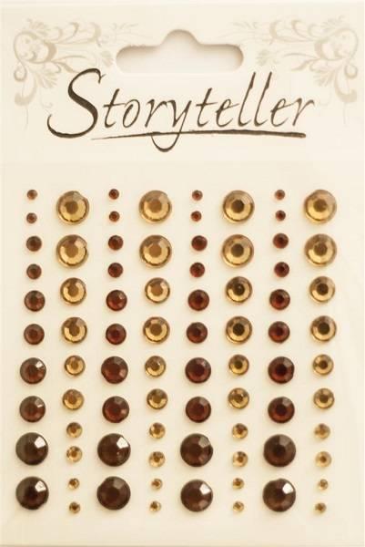 Storyteller - Bling - ST-009513 - Lys og mørk Brun
