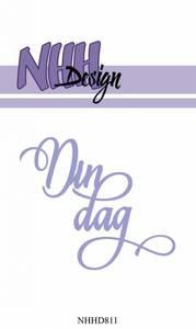 Bilde av NHH Design - NHHD811 - Dies - Din dag