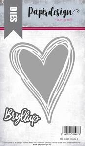 Bilde av Papirdesign Dies PD18467 - Hjerte 4