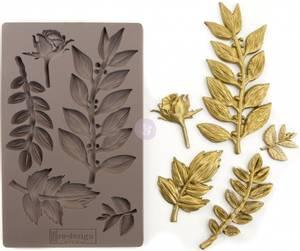 Bilde av Prima - Re-Design - 635756 - Moulds - 5x8 - Leafy Blossom