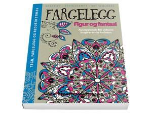 Bilde av Fargelegg -  Figur og Fantasi - Hardcover
