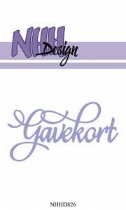 Bilde av NHH Design - NHHD826 - Dies - Gavekort