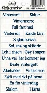 Bilde av Papirdesign - Klistremerker - 15048 - Vintersmil