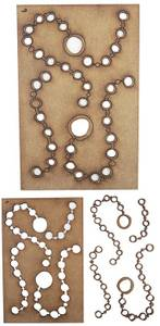 Bilde av Creative Expressions - Art-Effex Boards MDF - Watch Chains