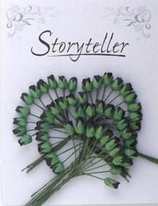 Bilde av Storyteller - Roseknopp - Svart - 4mm - 1753