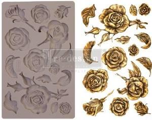 Bilde av Prima - Re-Design - 644901 - Moulds - 5x8 - Fragrant Roses