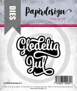 Bilde av Papirdesign Dies PD1900065 - Gledelig jul 2