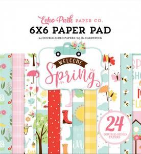 Bilde av Echo Park - Welcome Spring - 6x6 Paper Pad