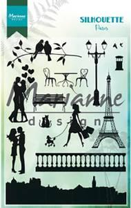 Bilde av Marianne Design - CS1027 - Clearstamp - Silhouette Paris