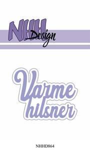Bilde av NHH Design - NHHD864 - Dies - Varme Hilsner
