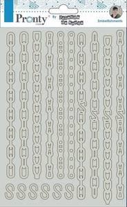 Bilde av Pronty Crafts - Chipboard - A5 - Chains
