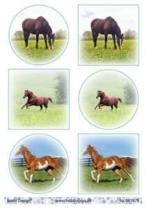 Bilde av Barto Design - Klippeark A4 - 067879 - Horses