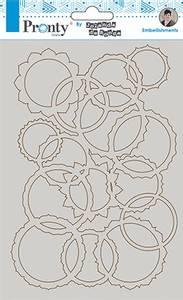 Bilde av Pronty Crafts - Chipboard - A5 - Mandala