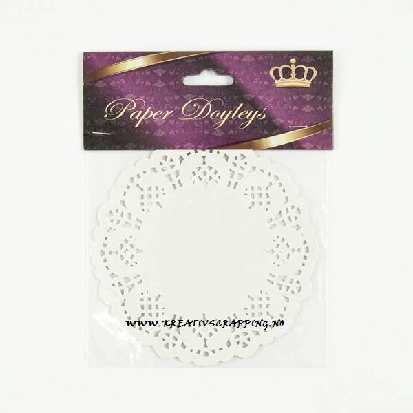 Paper Doyleys - KA1002 - 11,5cm - Blondeserviett / Kakeserviett