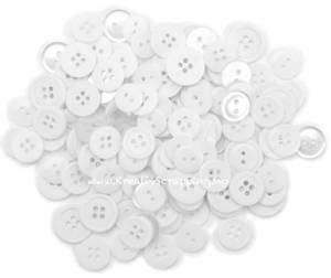 Bilde av Blumenthal - Favorite Findings Buttons - 402 - White - 130 stk