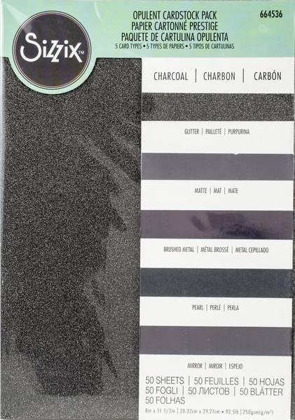 Sizzix - Opulent Cardstock Pack - 8x11,5
