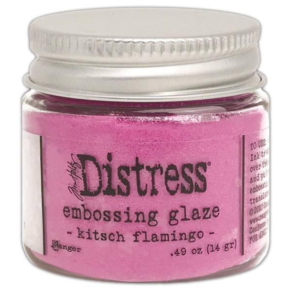 Tim Holtz - Distress Embossing Glaze - 73857 - Kitsch Flamingo