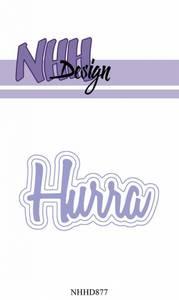 Bilde av NHH Design - NHHD877 - Dies - Hurra