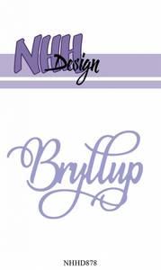 Bilde av NHH Design - NHHD878 - Dies - Bryllup