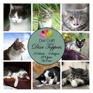 Bilde av  Dixi Craft - Dixi toppers - ET0237 -  Cats