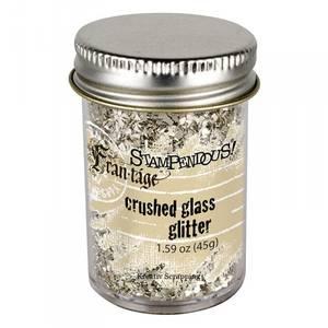 Bilde av STAMPENDOUS - FRAN-TAGE - CRUSHED GLASS GLITTER - SILVER