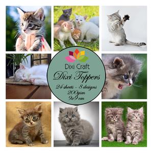Bilde av  Dixi Craft - Dixi toppers - ET0239 -  Kittens