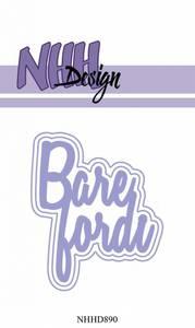 Bilde av NHH Design - NHHD890 - Dies - Bare fordi